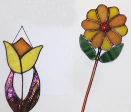 Stained Glass Flower2